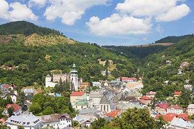 UNESCO World Heritage Site, Banska Stiavnica, Slovakia