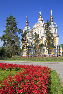 Ascension Cathedral, Panfilov Park, Almaty, Kazakhstan