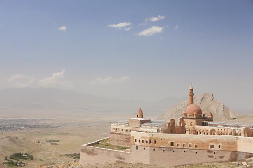 Ishak Pasha Palace near Doğubayazıt, Agri Province, Turkey